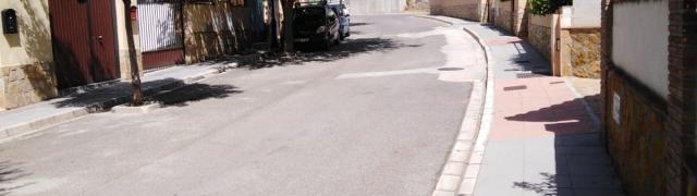 Limpieza de las calles en la Sotanilla