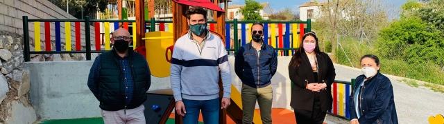 Inauguración del Parque Infantil de la Sotanilla