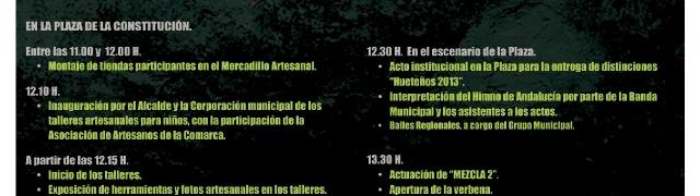Programación de la VII Feria Balcón a la Artesania 28 de Febrero
