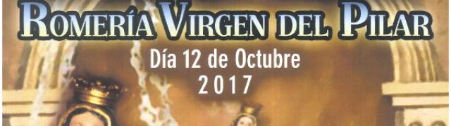 El 12 de octubre se celebrará la Romería de la Virgen del Pilar en Huétor Santillán