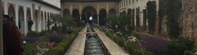Fotos del viaje cultural a la Alhambra
