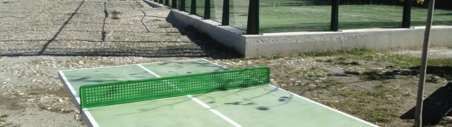 Disponible la primera mesa de ping-pong en la Era