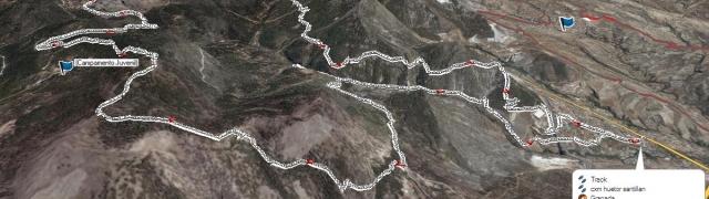 Ya están disponibles  los perfiles del Trail Sierra de Huétor