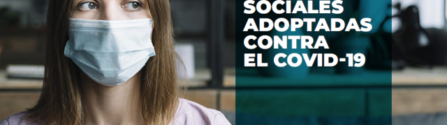 El Ayuntamiento comparte la guía sobre las medidas sociales adoptadas contra el Covid-19
