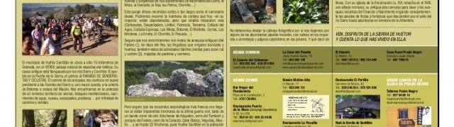 Editado un folleto desplegable para promocionar el turismo en la Sierra de Huétor