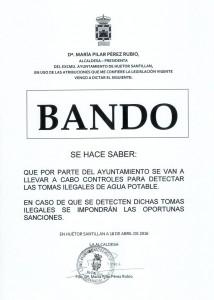 Bando huetor santillan