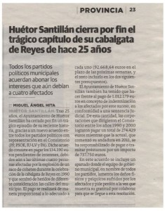 Noticia Ideal Huetor Santillan