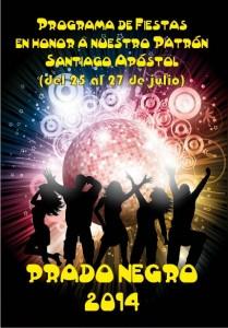 Portada Fiestas Prado Negro 2014