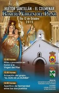 Romeria Virgen Pilar 12 Octubre Huetor Santillan