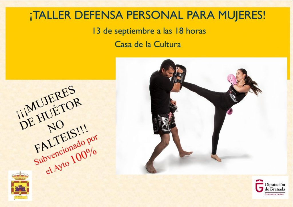taller defensa personal aplazado
